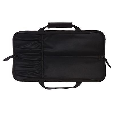 5 POCKET CHEF Knife Roll Bag Case knife bag chef bag knife roll black Ergo Chef