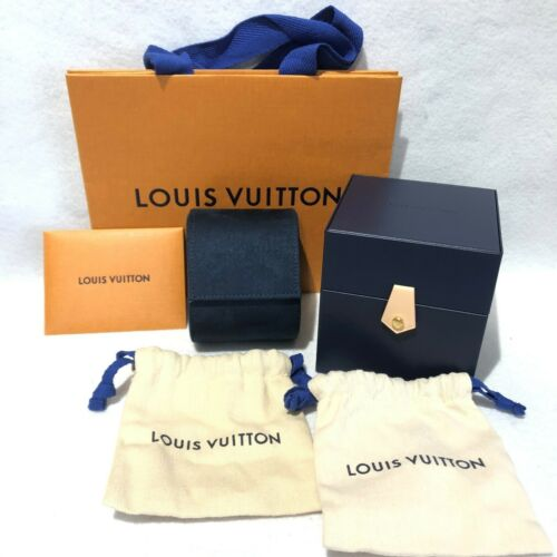 SPECIAL PRICE! Louis Vuitton Watch TRAVEL DISPLAY STORAGE CASE Pouch Cloth Box