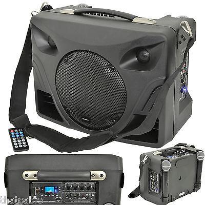 50W Portátil Exterior Altavoz Pa Sistema - Móvil Wireless Micrófono Active