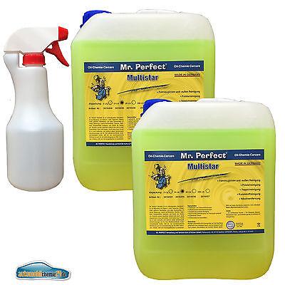 Mr. Perfect Anwendungsfertiger Multireiniger 2x10L + leere 500ml Sprühflasche ()