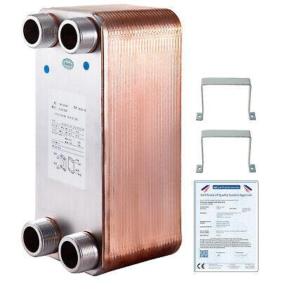 5x12heat Exchanger Brazed Plate Heat Exchanger 50 Plate Heat Exchanger