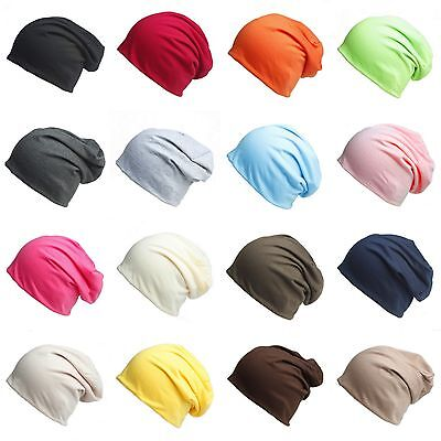 Unisex Women Mens Knitted Winter Warm Oversized Ski Slouch Hat Cap Baggy Beanies