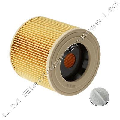 karcher a2254 a2504 vacuum cleaner hoover wet dry cartridge filter genuine. Black Bedroom Furniture Sets. Home Design Ideas