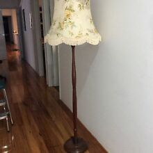 Art Deco Tall Wooden Lamp Shade Manning South Perth Area Preview