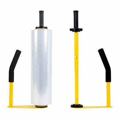 Pallet Stretch Film Packingmachine Shrink Wrap Dispenser Holderhandadjust. New