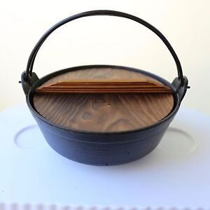 Japanese Cast Iron Iwachu Furusato Hot Pot Cooking Pot Waterloo Inner Sydney Preview