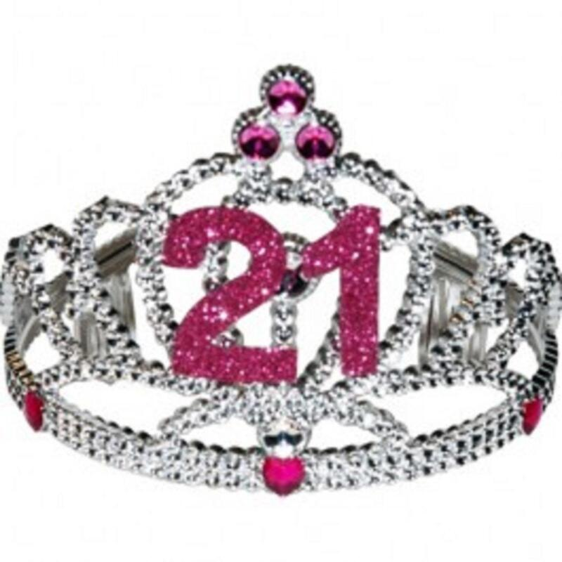 21 Birthday Tiara