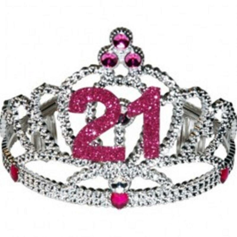 21 Birthday Tiara