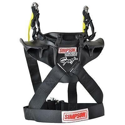 Simpson HS.MED.11 Hybrid Sport Head and Neck Restraints, Med