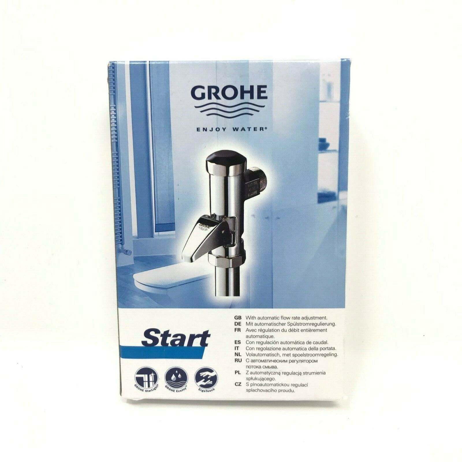 GROHE Start Wc-Druckspüler Vollautomatik 37401000 NEU&OVP +++mit Rechnung+++
