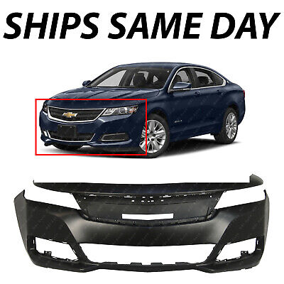 NEW Primered - Front Bumper Cover Replacement for 2014-2019 Chevy Impala 14-19 Chevrolet Impala Front Bumper