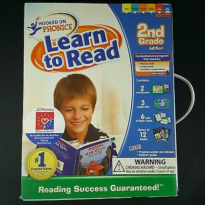 Hooked On Phonics 2nd Second Grade Reading Learn To Read Box Set  2nd Grade Box Set