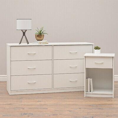 Mainstays Classic 6 Drawer Dresser, White Finish FRee Shipping