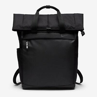 0b884abd5c7d Nike Radiate Backpack Black Laptop Sleeve Gym School Unisex Training Futura  New