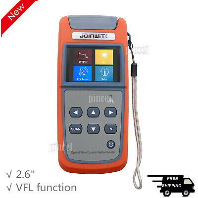 Mini Optical Time Domain Reflectometer Otdr Built-in Vfl Function Jw3305a