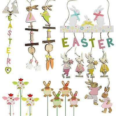 Easter Art Deco MDF Decorations, Room Ornament - Choose Design