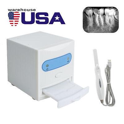 Us Dental X-ray Film Reader Scanner Viewer Digital Image Converter Oral Camera