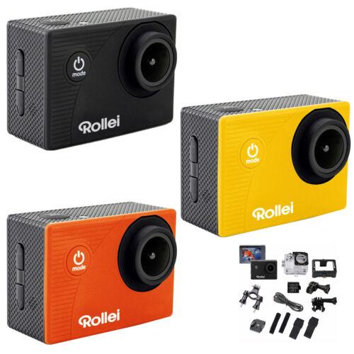 Rollei Action Cam 372 FullHD WiFi Unterwasserkamera Wasserdicht 140° Weitwinkel