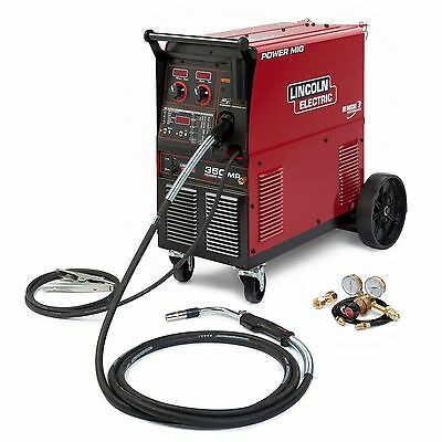 Lincoln Power Mig 350mp Mig Welder Pkg K2403-2
