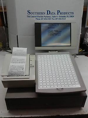 Ncr 2170-2000 Lcd Terminal Wthermal Ncr 7193-1505 Printer