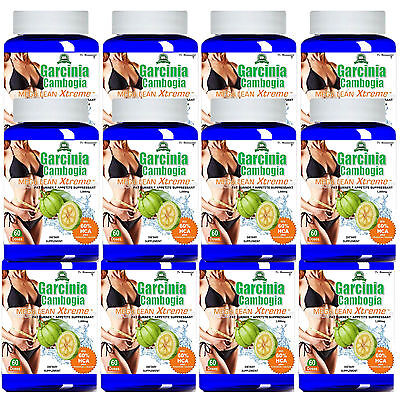100% Pure Garcinia Cambogia Extract 1000mg Weight Loss 60% H