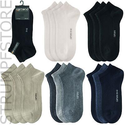 Allen Allen Damen Kleidung (Camano Sneaker Socken 6 Paar, alle Farben 35-38, 39-42, 43-46, 47-49 Art. 3003)