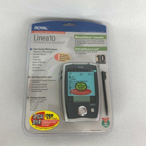 Royal Linea10 Personal Digital Assistant PDA 10 Megabyte Stylus Synchronizes PC