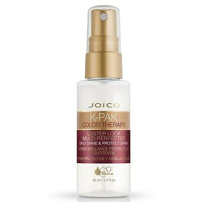 Joico K-Pak Hair Color Therapy Luster Lock Shine Protect Spray 50Ml Sealed New