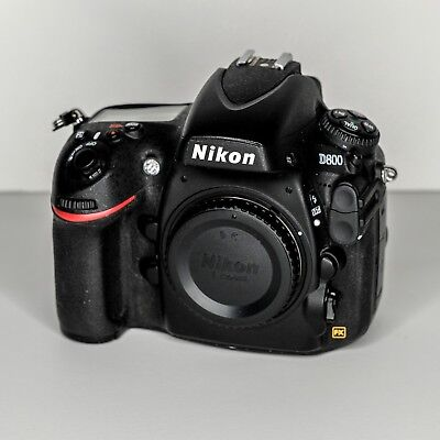 Nikon USA D800 36.3MP Digital SLR Camera Body DSLR