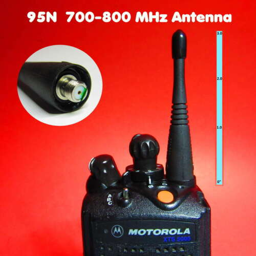 "95N 700 800 MHz 3"" TUNED Antenna for Motorola MT1500 XTS1500 XTS3000 XTS5000"