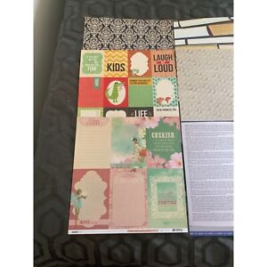 Kaisercraft scrapbooking & card papers Cottesloe Cottesloe Area Preview
