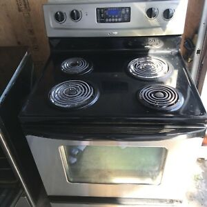 WHIRLPOOL STOVE STAINLESS STEEL