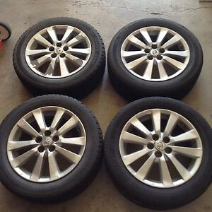 "16"" Toyota Corolla S wheels and tires"