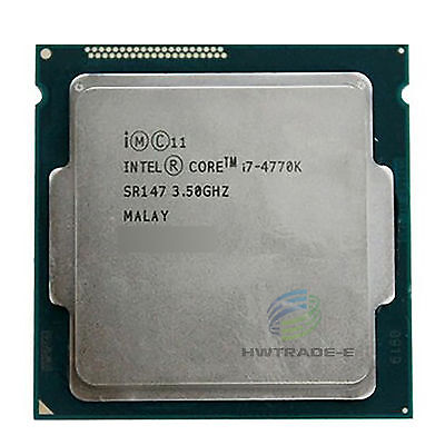 Intel Core i7-4770K SR147 3.5 GHz Quad-Core 8MB 84W LGA1150 Processor CPU comprar usado  Enviando para Brazil