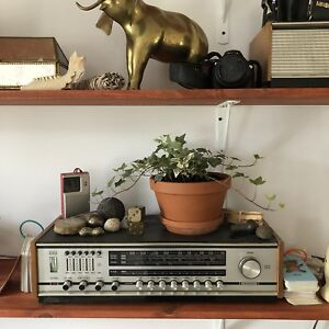 Vintage am fm stereo with aux cord MCM