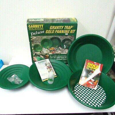 Garrett Deluxe Gravity Trap Gold Panning Kit Model 1651400
