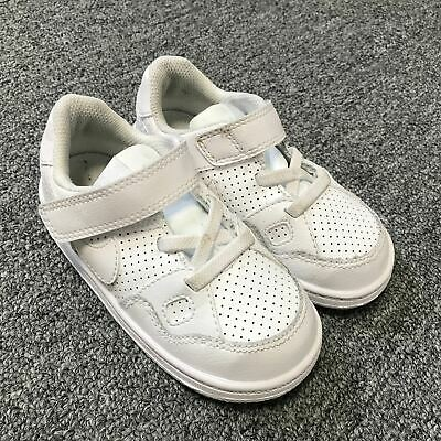 Nike Son of Force (TDV) Toddlers Infants Baby Shoes White Sz 8C 615150-109