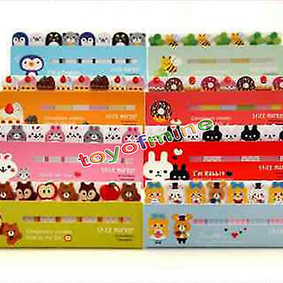 Cute Animals Sticker Post-it Bookmark Marker Memo Flags Index Tab Sticky Notes