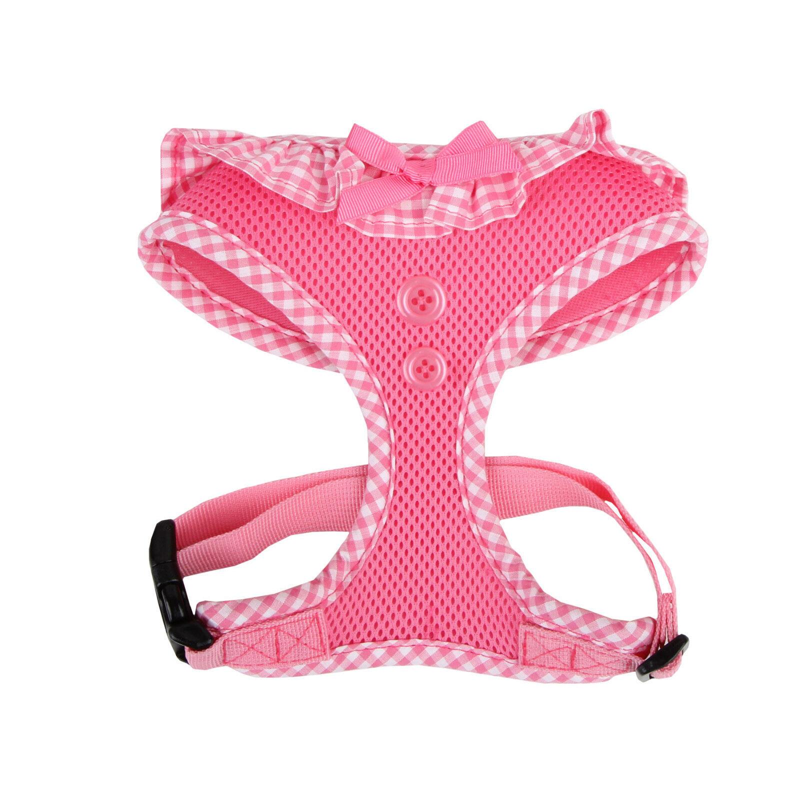 Puppia - Dog Puppy Mesh Harness - Vivien - Pink - XS, S, M,