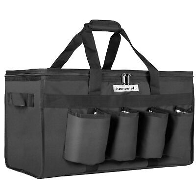 Homemell Food Delivery Bag With Cup Holders Commercial Grade Food Shopping To...