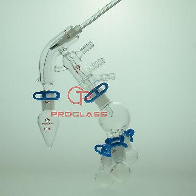 Proglass Glass Jacket Chemistry Lab Glassware Distillation Kit 1420 Distilling