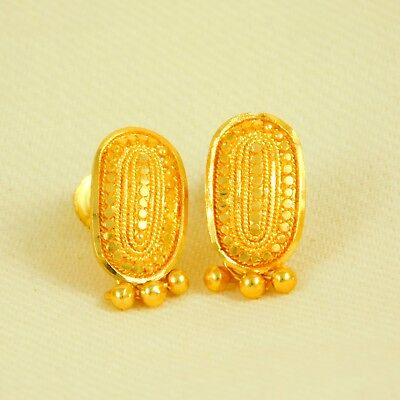 Bollywood Goldplated Traditional Ethnic Earrings Party Dangle Earrings Jewelry