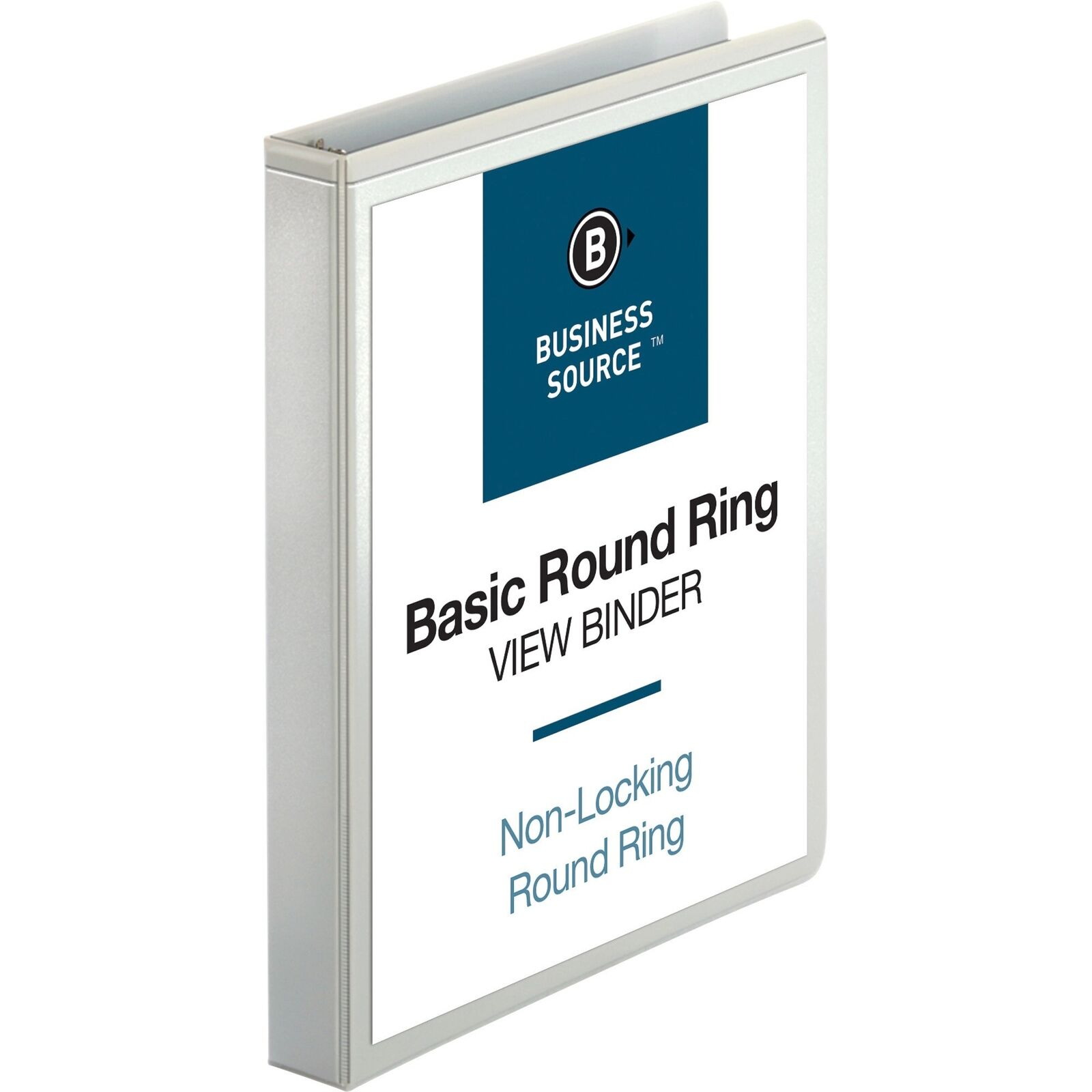 Business Source Business Source Round Ring View Binder 1 Inc