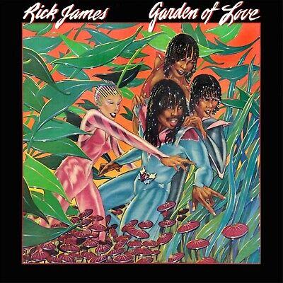 RICK JAMES Garden of Love BANNER HUGE 4X4 Ft Fabric Poster Tapestry Flag art - Tapestry Garden Flags
