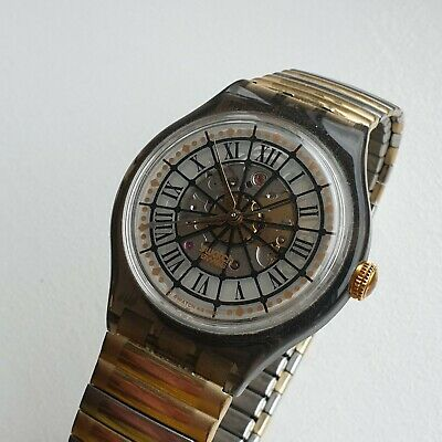 Swatch Swiss Automatic Vintage Mens Watch Marchal
