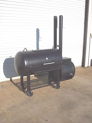New Custom Bbq Pit Smoker Charcoal Grill