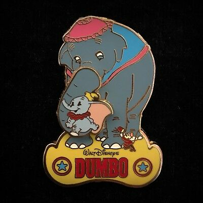 Mrs Jumbo Mother Trunk Rocking Baby Dumbo Elephant Family Collection Disney Pin