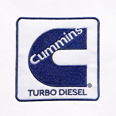 CUMMINS LOGO IRON-ON PATCH Diesel Turbo Engine