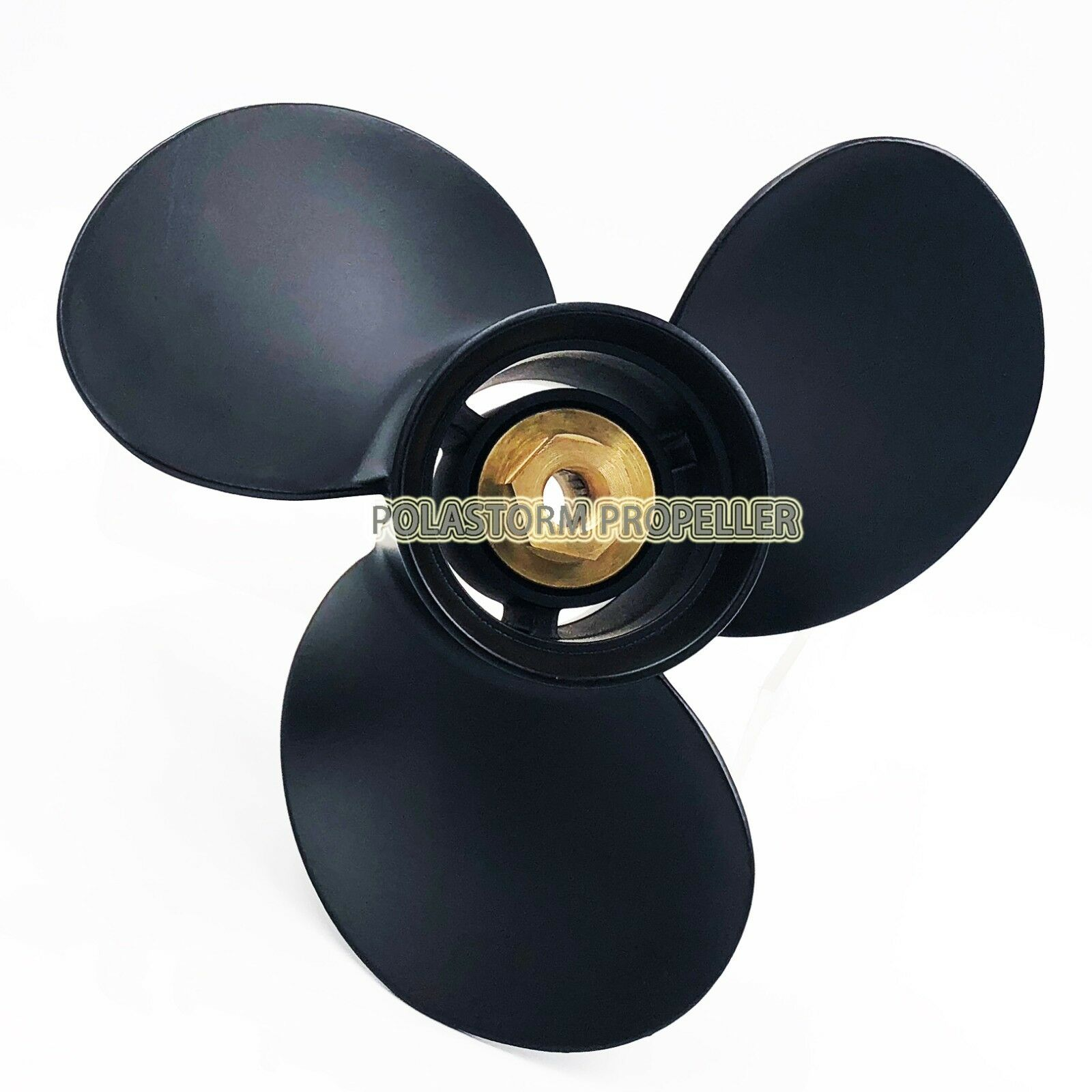 9.9X12 P Aluminum Outboard Propeller For Mercury 25-30HP   .