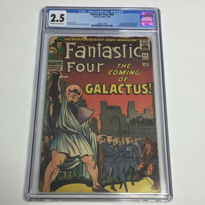Fantastic Four #48 CGC 2.5 1st Silver Surfer Galactus